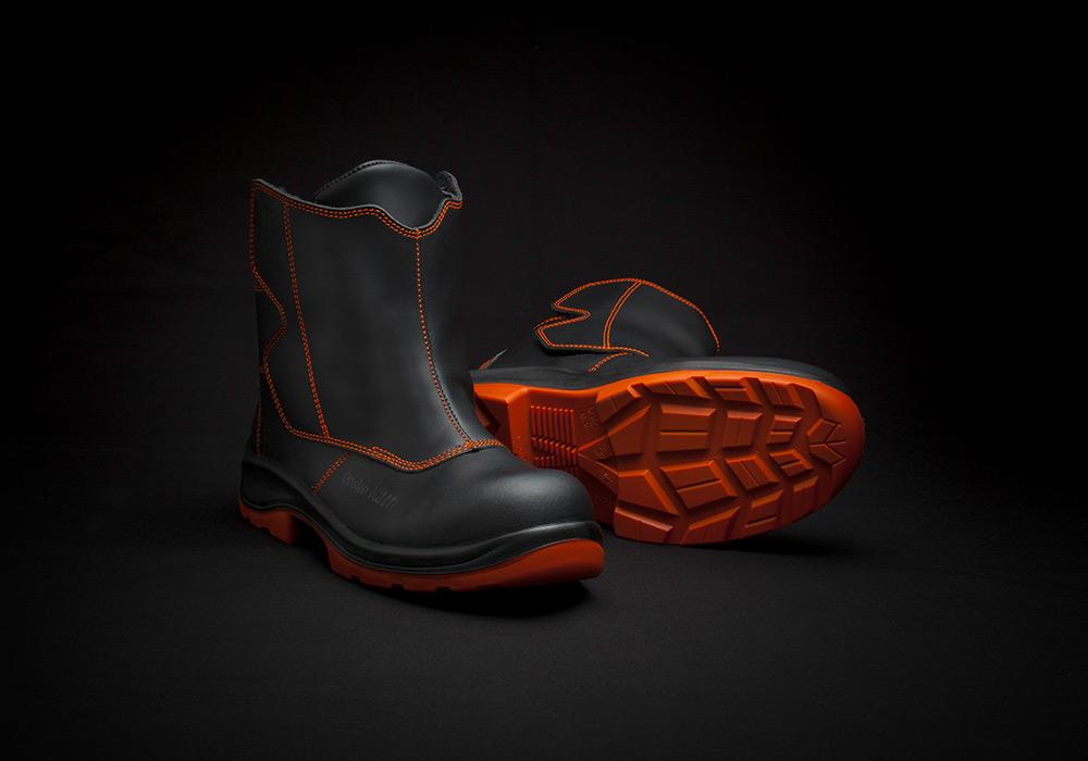 Photographie chaussure de sécurité gamme soudeur Gaston Mille