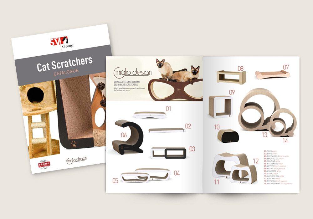 brochure produits griffoir chat Saint Vincent Group SVG