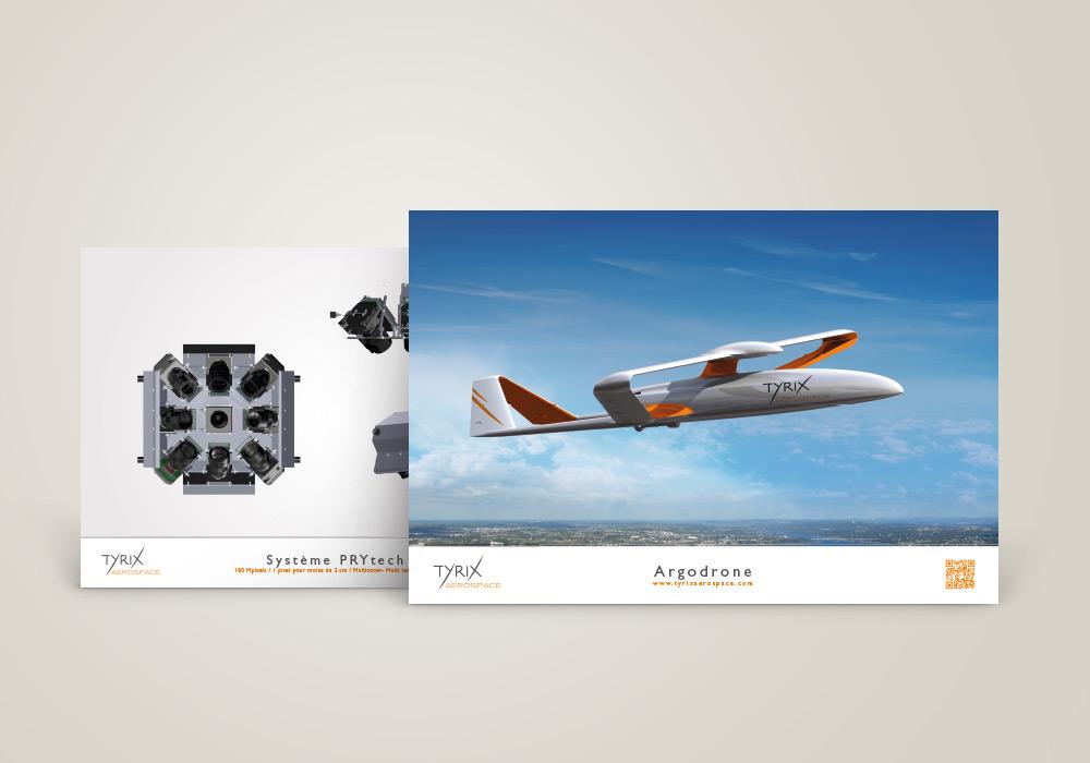 Affiche Drône Tyrix