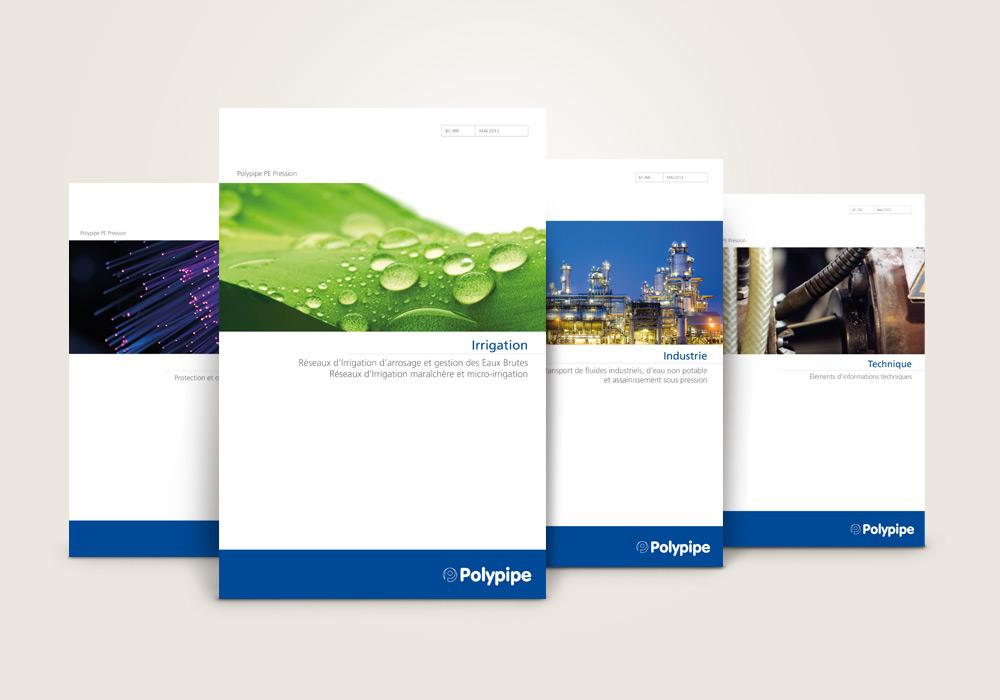 Couvertures de brochure Polypipe