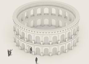 Colisée Glanum illustration