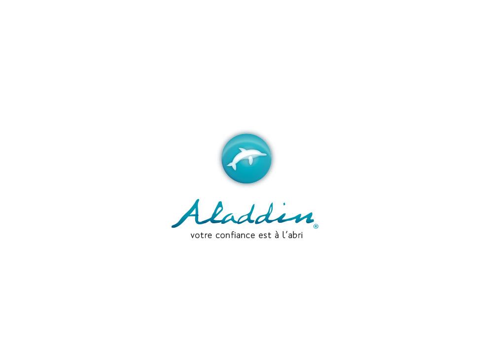 Identité : logotype et signature Aladdin