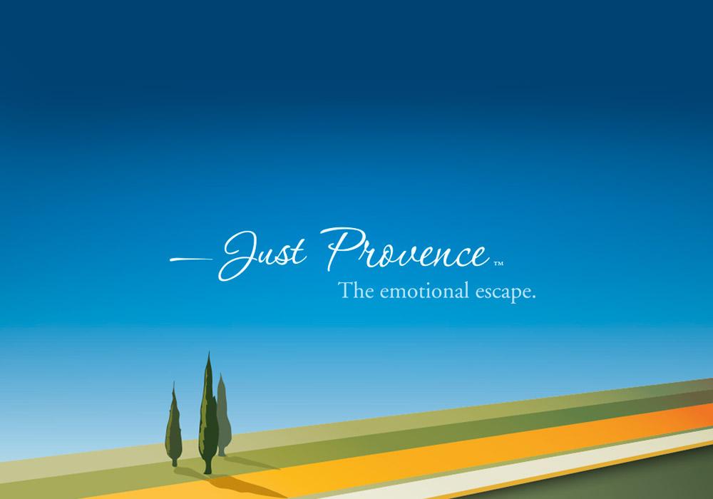 Identité visuelle Just Provence