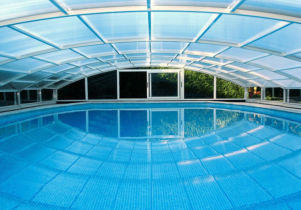 Photographie abri de piscine Aladdin