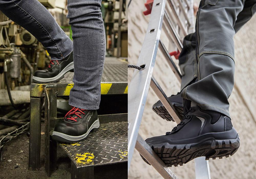 Photoreportage de chaussures de sécurité Gaston Mille