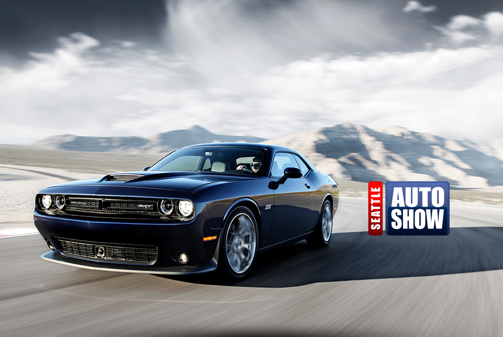 Photomontage Seattle Auto Show
