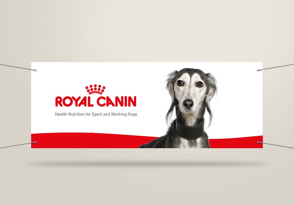 Bâche grand format Royal Canin