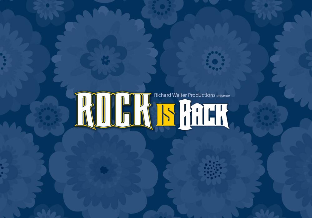 visuel Rock Is Back Richard Walter Production