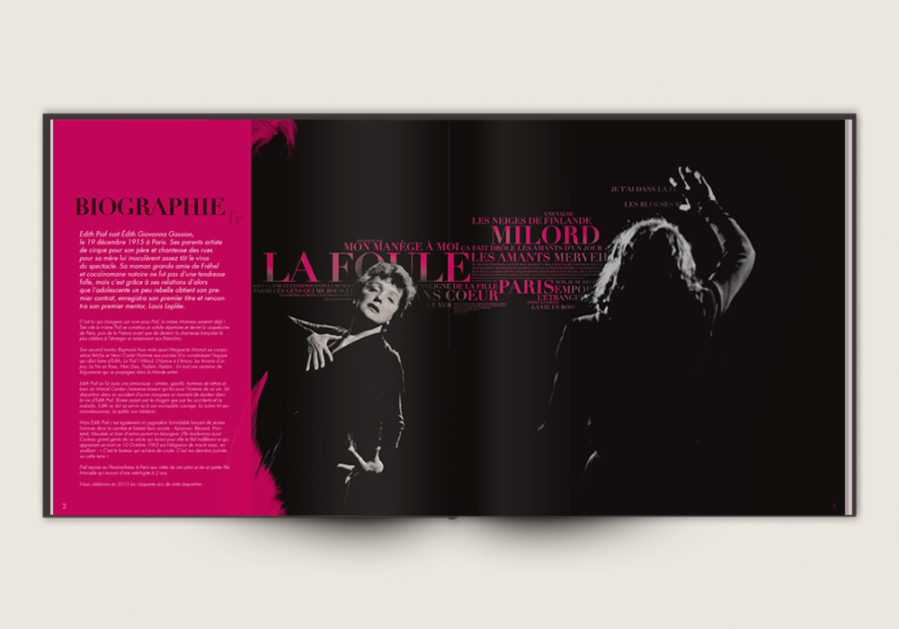 Dossier de Presse Kaas Chante Piaf Richard Walter Production