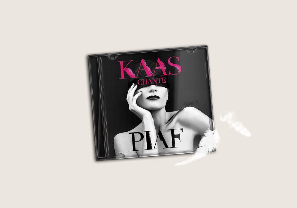 Pochette CD Kaas Chante Piaf Richard Walter Production