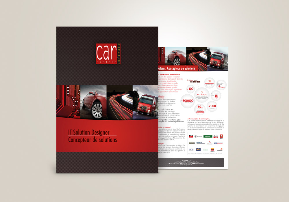 Edition Pochettes à rabats Car Systems