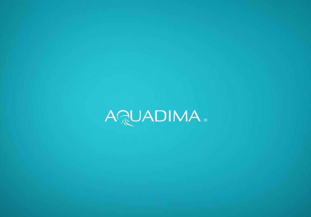 Identité, nommage et logo Aquadima
