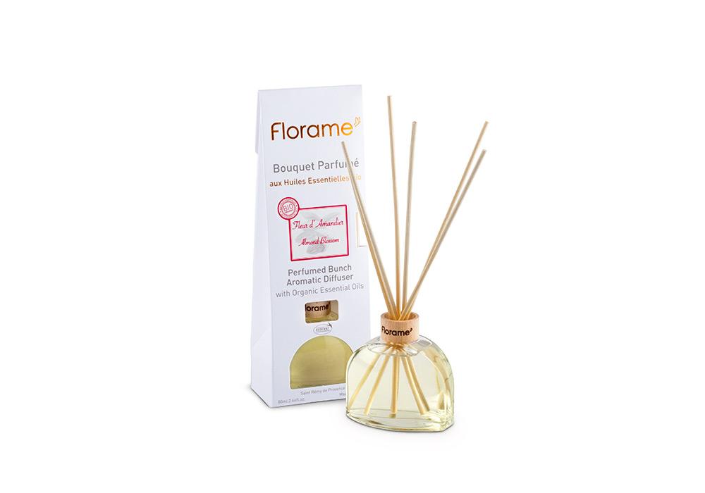 Photo studio bouquet parfumé Florame