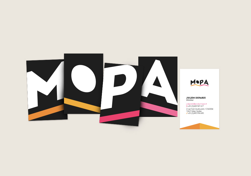 Collection de cartes de visite MOPA