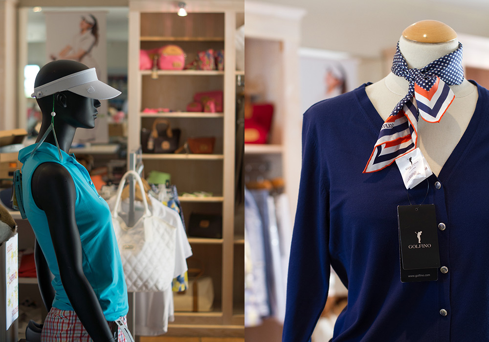 Photoreportage boutique Golf de Pont Royal