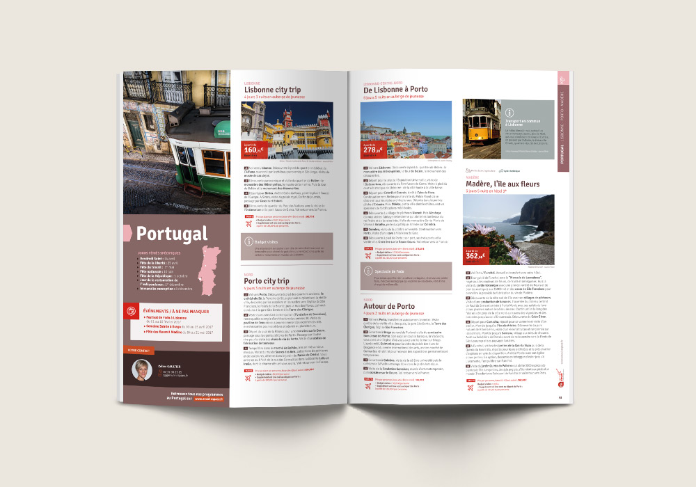 page programme détaillé du catalogue Envol Espace