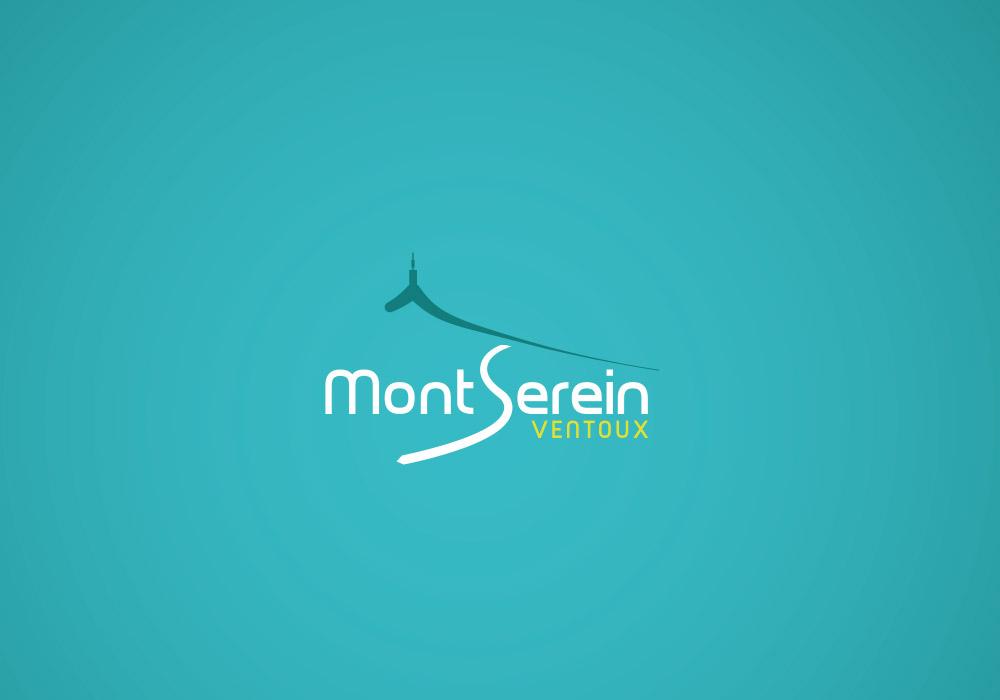 identité visuelle Station du Mont Serein