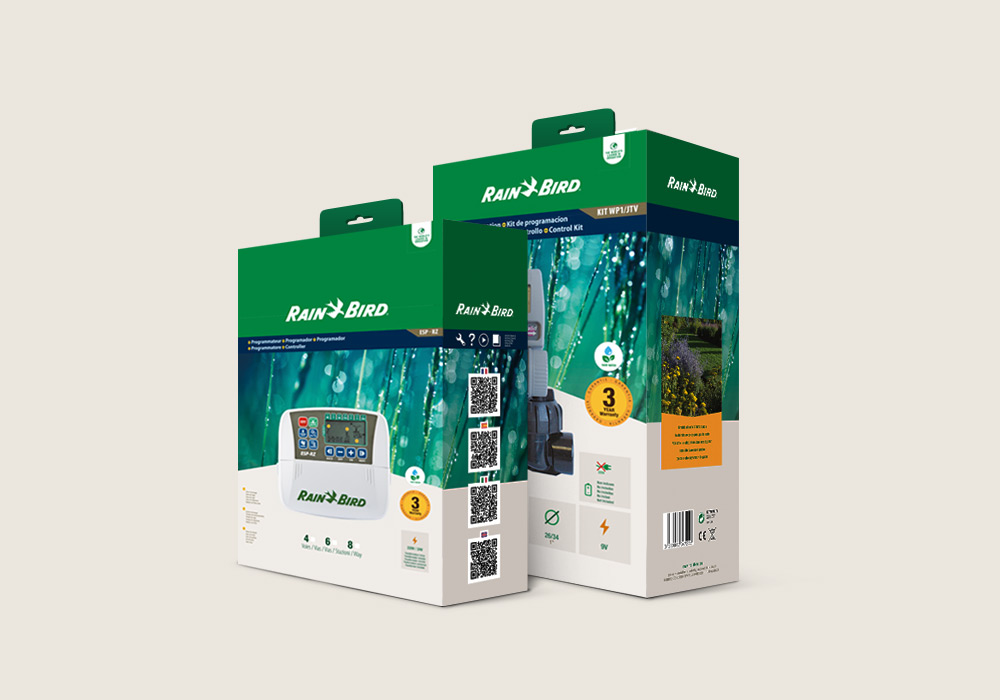 packaging programmateur Rain Bird