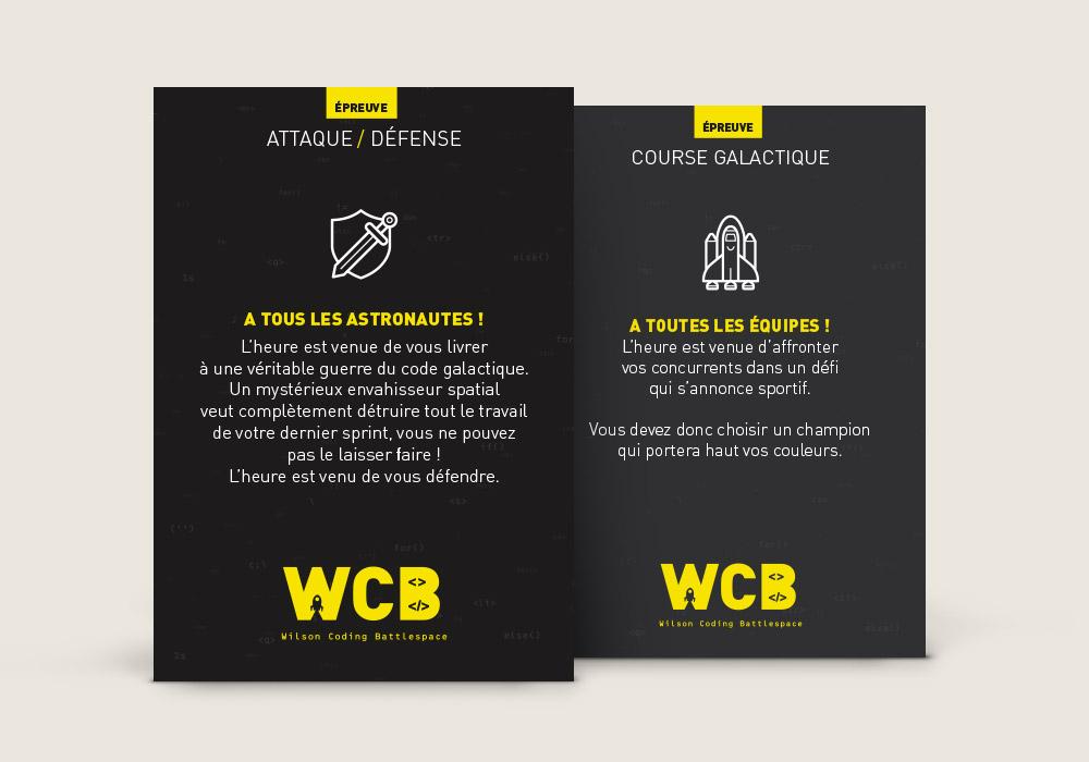 Flyer événement WCB Eleven Labs