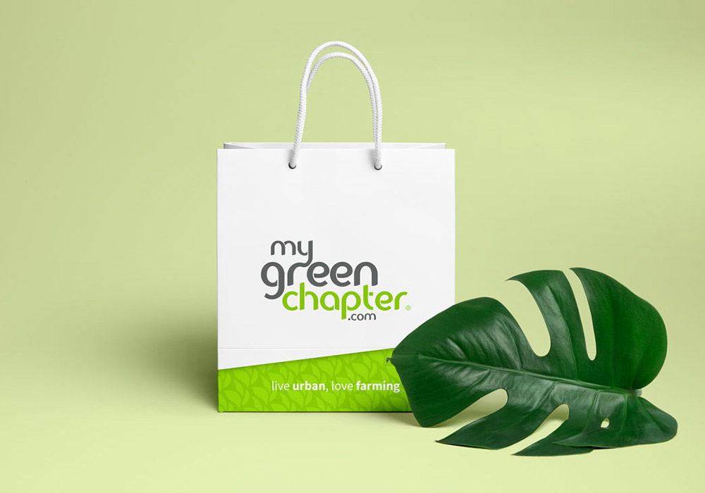 packaging sac papier My Green Chapter