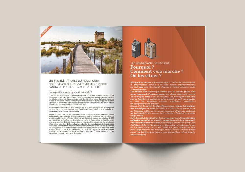 pages intérieures brochure Qista
